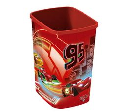 CARS Poubelle 10L Rouge