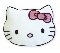 Coussin 30x40 cm HELLO KITTY Blanc