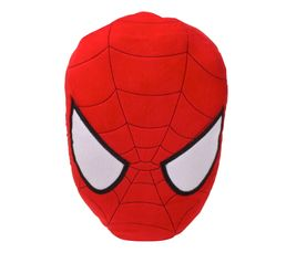 Coussin 3D H. 39 cm SPIDERMAN MASK Rouge