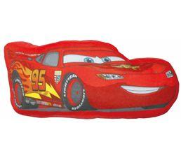 Coussin 3D H. 46 cm CARS FLASH MAC QUEEN rouge
