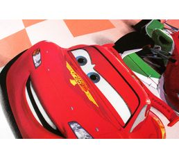 Housse de couette enfant 140X200 cm+ 1 taie d'oreiller CARS CIRCUIT