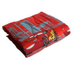 couette imprim e 140x200 cm cars indianapolis rouge gris plaids but. Black Bedroom Furniture Sets. Home Design Ideas