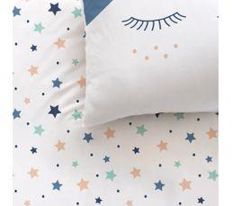 Housse de couette enfant 140X200 cm+ 1 taie d'oreiller SWEET DREAMS
