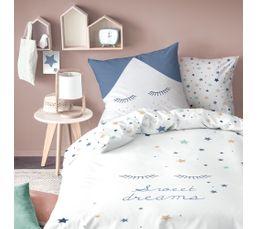 140X200 cm+ 1 taie d'oreiller Housse de couette enfant SWEET DREAMS