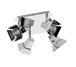 CINE Plafonnier Chrome