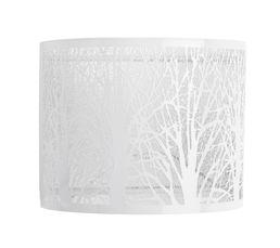 Applique en métal L.24 cm H.20 TREE blanc