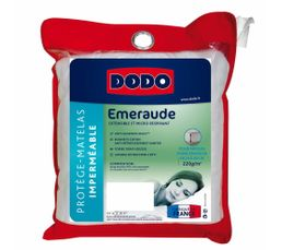 DODO Protège matelas 200x200 cm EMERAUDE
