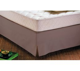 Cache sommier 160x200 cm DODO taupe