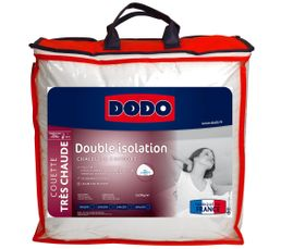 Couette 140x200 cm DODO DOUBLE ISOLATION