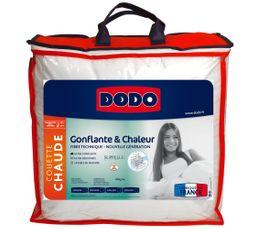 Couette chaude 220x240 cm DODO GONFLANTE CHALEUR