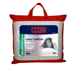 DODO Oreiller 60 x 60 cm LATEX TRADITION