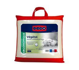 Oreiller 60x60 cm dodo vegetal oreiller et traversin but - Dodo oreiller ergonomique ...