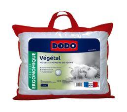 oreiller 45 x 70 cm dodo vegetal - oreiller et traversin but