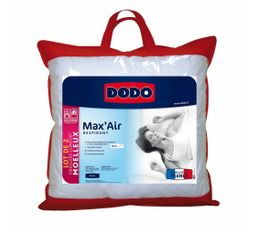 DODO Lot de 2 oreillers 60 x 60 cm MAX'AIR