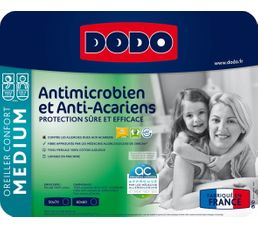 Oreiller 50 x 70 cm DODO HOLLOFIL ANTI-ACARIENS BUT