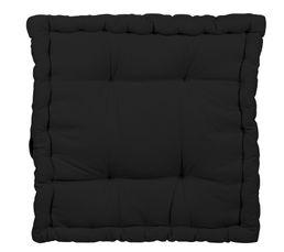 coussin de sol 40x40 cm rainbow 2 noir coussins but. Black Bedroom Furniture Sets. Home Design Ideas