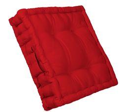Coussin de sol 40x40 cm RAINBOW 2 rouge