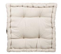 coussin de sol 40x40 cm rainbow 2 taupe coussins but. Black Bedroom Furniture Sets. Home Design Ideas