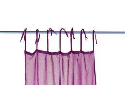 Voilage 110x240 cm RAINBOW 2 violet