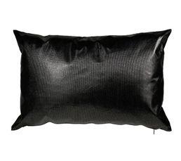 Coussin 40x60 cm PAILLETTE noir