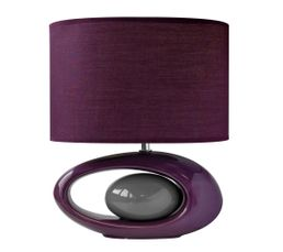 Lampe poser warren prune lampes poser but for Grosse lampe a poser