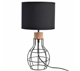 vasco lampe poser noir - Luminaire Style Scandinave