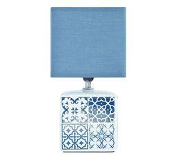 Lampe en céramique BORMIO Bleu