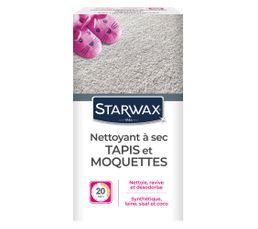 Entretien tapis moquette STARWAX Nettoyeur à sec 500gr
