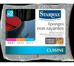 STARWAX Accessoires d'entretien Eponges non rayantes