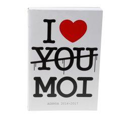I LOVE YOU MOI Agenda