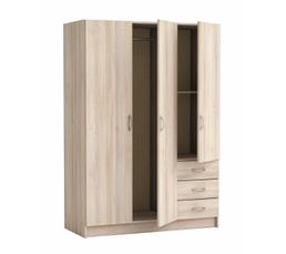 soldes armoire dressing et placard pas cher. Black Bedroom Furniture Sets. Home Design Ideas