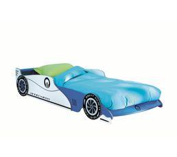 GRAND PRIX Lit enfant voiture Bleu
