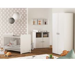 Commode Table A Langer Bebe Mistigri Blanc Commode Et Table A