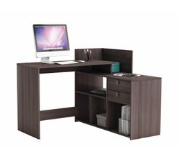 bureau d 39 angle vista imitation ch ne fonc bureaux but. Black Bedroom Furniture Sets. Home Design Ideas