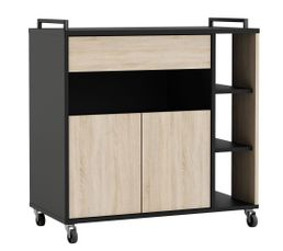 meuble micro ondes et desserte pas cher promo et soldes. Black Bedroom Furniture Sets. Home Design Ideas