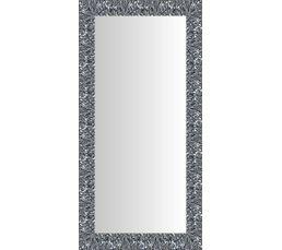 Structure : ayous. Baguette : ayous. Finition : Coloris argent. Dimensions en cm : L. 50 - H. 120 cm.