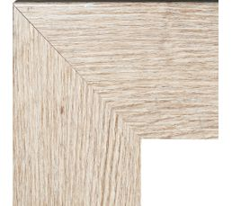 Miroir 40X140 DUBLIN Chêne blanchi