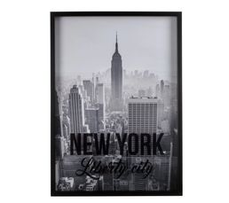 NY LIBERTE Photo 50X70 Noir