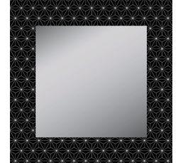 Miroir 53x53 cm ARANEIDE Noir