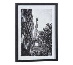 Image 30x40 cm PARIS HAUSSMANNIEN Noir