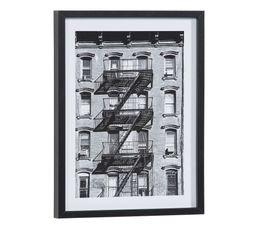 Image 30x40 cm STREET STAIRS Noir