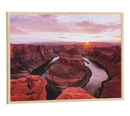 Image 70x100 cm CANYON Multicolore