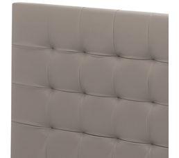 Tête de lit PU taupe 150 cm SIGNATURE CHARME
