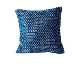 EDISSON Coussin 45 x 45 cm Bleu