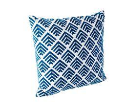RUSTY Coussin 45 x 45 cm Bleu