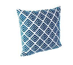 Coussin 45x45 cm RUSTY Bleu