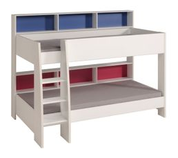 soldes lit superpos et mezzanine pas cher. Black Bedroom Furniture Sets. Home Design Ideas