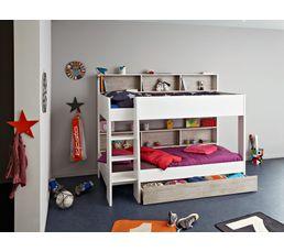 lit superpos 90x200 cm taylor 2319 lisu lits superpos s et mezzanines but. Black Bedroom Furniture Sets. Home Design Ideas