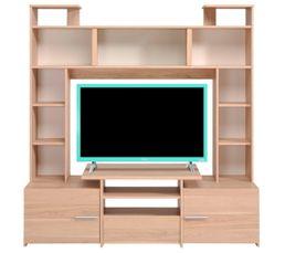 Meuble TV FORUM 9837PATV Chêne Dakota