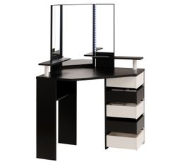 commode chiffonnier et coiffeuse pas cher. Black Bedroom Furniture Sets. Home Design Ideas
